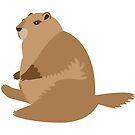 Chubby Marmot by elenakballam
