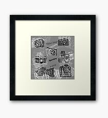 Cameras And Photography Framed Print