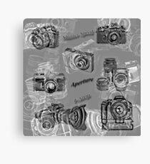 Cameras And Photography Canvas Print