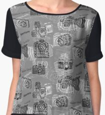 Cameras And Photography Chiffon Top