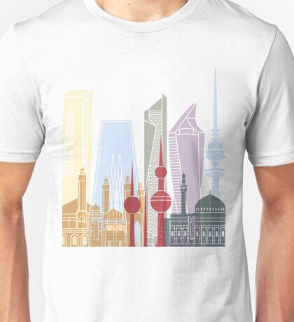 Kuwait City skyline poster Unisex T-Shirt