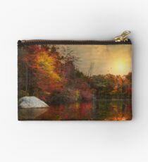 Autumn On The River Studio Pouch
