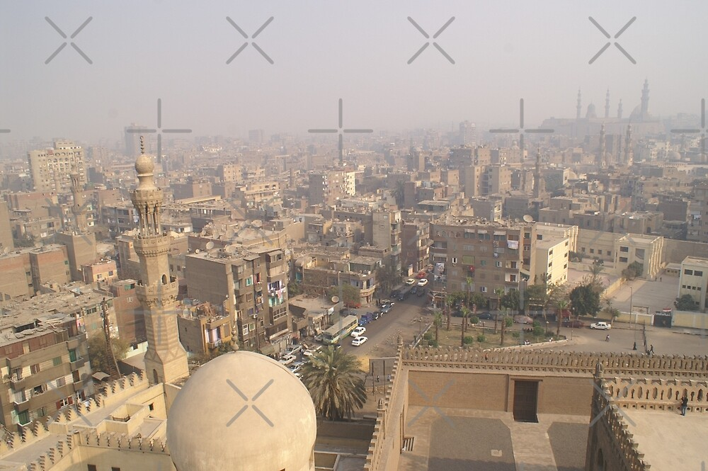 Cairo Cityscape by SHappe