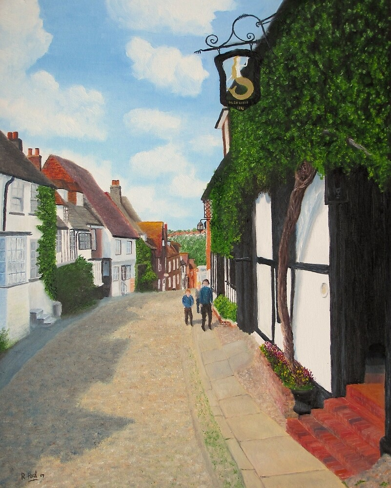 Mermaid Inn, Rye by Richard Paul