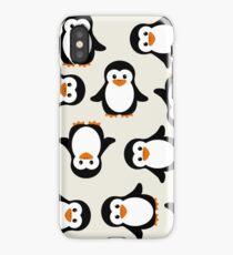 Penguin Parade iPhone Case/Skin
