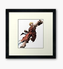 Street Fighter - Ken Framed Print