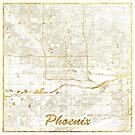 Phoenix Karte Gold von HubertRoguski