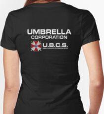 Resident Evil Women's Fitted V-Neck T-Shirt