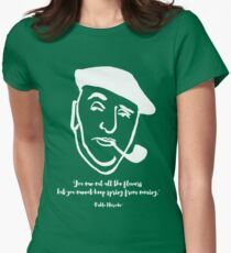 Pablo Neruda Womens Fitted T-Shirt