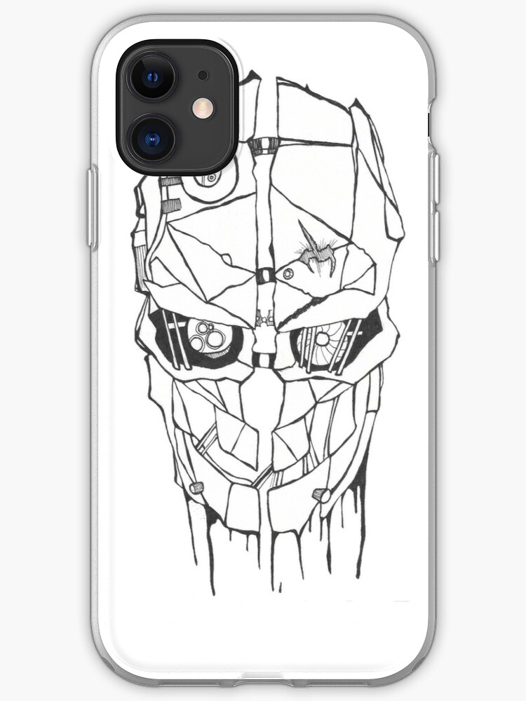 IT wore many masks iphone case