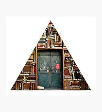 READING triangle Photographic Print
