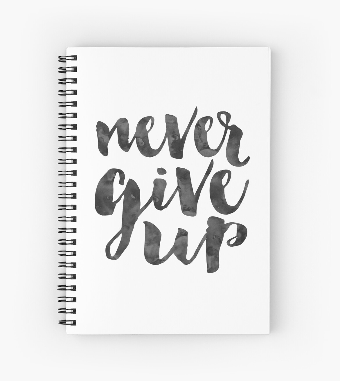 Never give upmotivational posterinspirational quoteoffice signoffice wall art