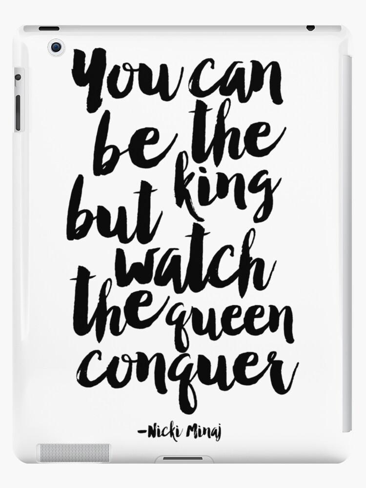Vinilos y fundas para iPad «usted puede ser el rey, pero vea la ...