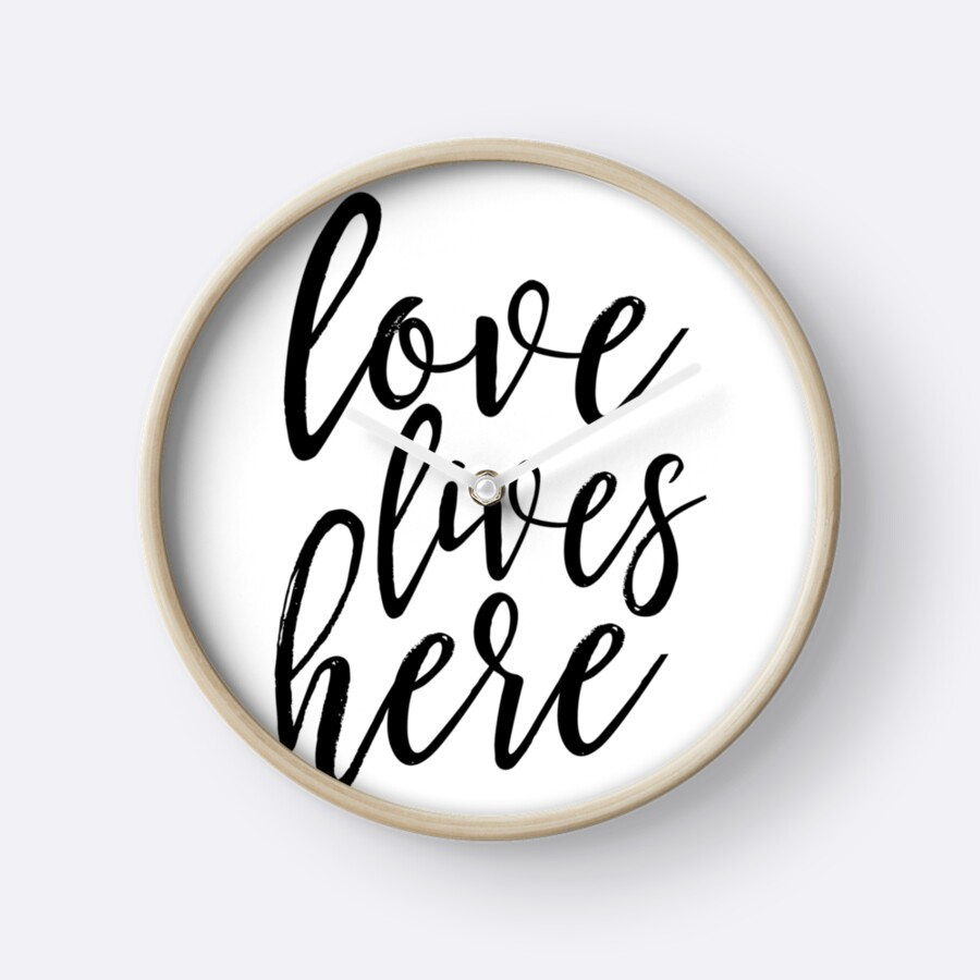 Printable Love Quotes Love Lives Herefamily Signhome Decorlove Signhome Wall Art