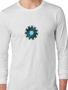 Tony Stark Heart Long Sleeve T-Shirt