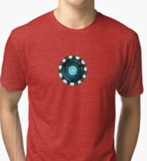 Tony Stark Heart Tri-blend T-Shirt