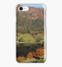View of Rydal Water in the Lake District, UK iPhone Case/Skin