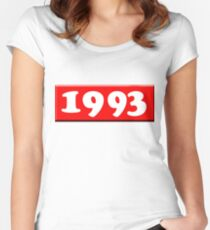 1993 Women's Fitted Scoop T-Shirt