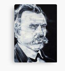 FRIEDRICH NIETZSCHE - acrylic portrait Canvas Print