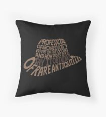 Obtainer of Rare Antiquities Throw Pillow