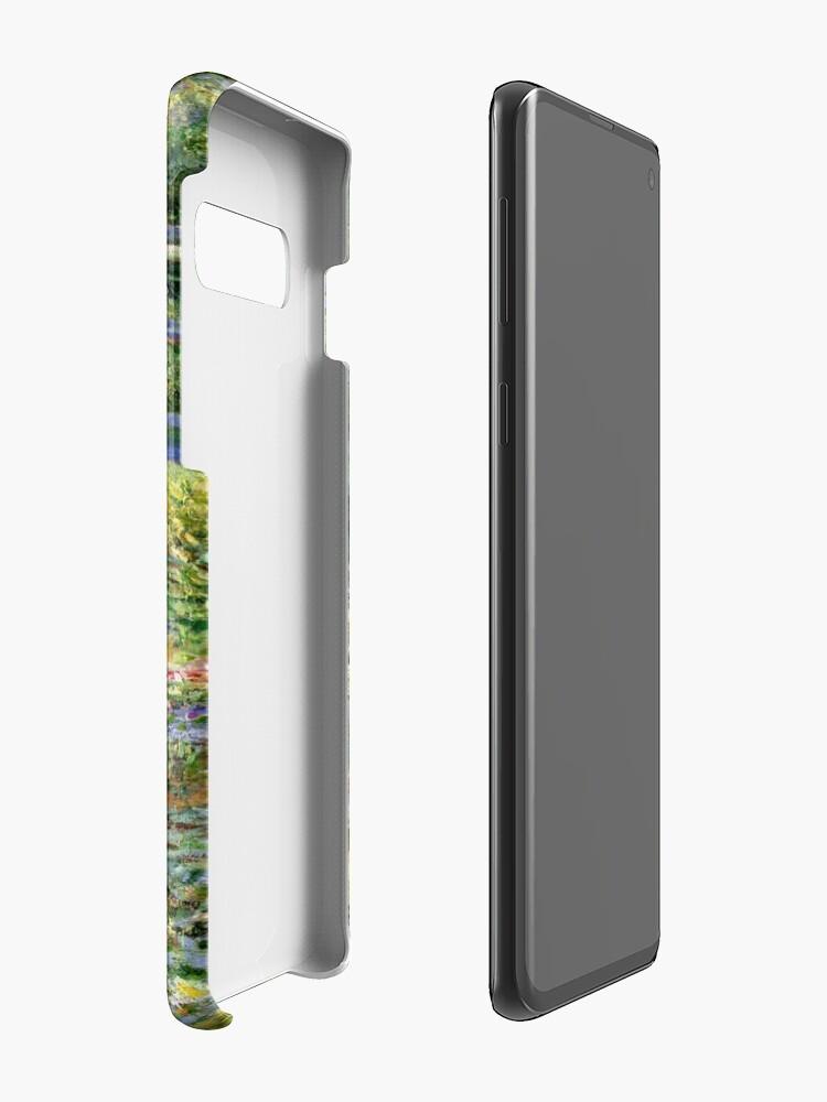Vista alternativa de Fundas y vinilos para Samsung Galaxy The Water-Lily Pond por Monet