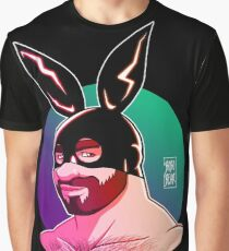 ADAM LIKES BUNNIES - CLUB VERSION Graphic T-Shirt