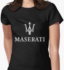 maserati apparel Womens Fitted T-Shirt