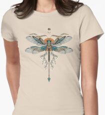 Dragon Fly Tattoo Womens Fitted T-Shirt