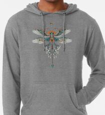 Dragon Fly Tattoo Lightweight Hoodie