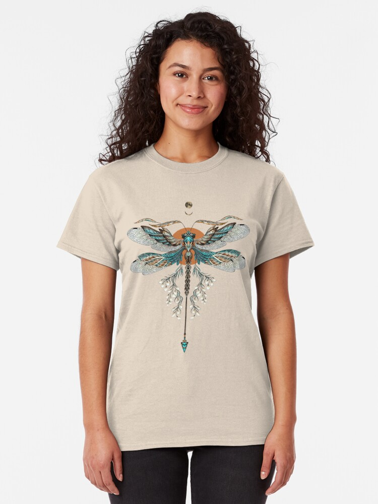 Alternate view of Dragon Fly Tattoo Classic T-Shirt