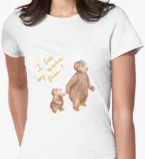 Mama bear Women's Fitted T-Shirt