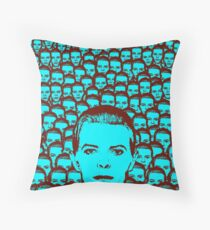 We need more Bowie Throw Pillow