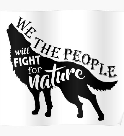We The People for Nature Poster