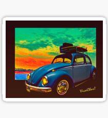 Classic Surf Rod Sticker