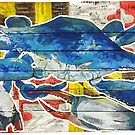 Blue Crab Maryland Flag by Statepallets