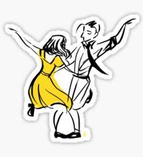 La La Land - City of Stars - Mia and Sebastian Sticker