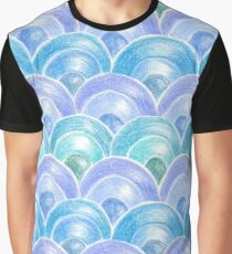 Oriental mermaid scale Graphic T-Shirt