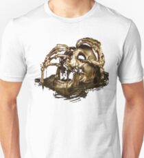 Black Sails Golden Skull Unisex T-Shirt