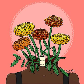 A Neck for Marigolds by alexperez398