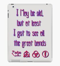 I may be old... ZEPPELIN! iPad Case/Skin