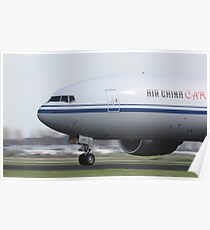 Air China Cargo Boeing 777 Poster