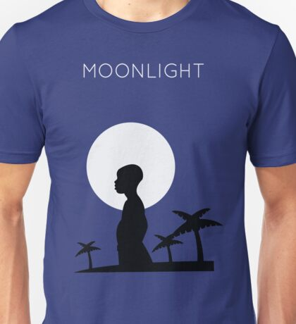 Moonlight Minimalist Unisex T-Shirt