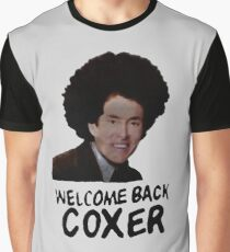 Scrubs - Welcome Back Coxer Graphic T-Shirt