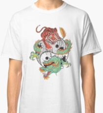 Tiger Dragon Yin Yang Classic T-Shirt