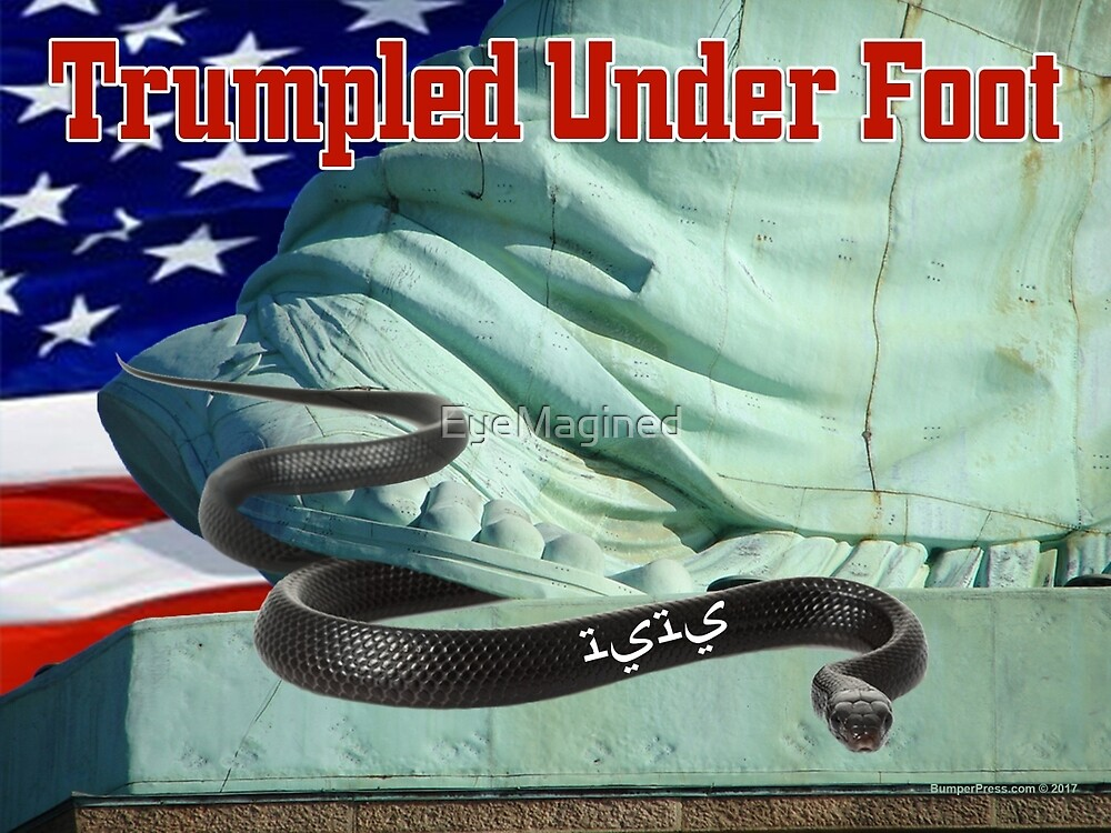 Trumpled Under Foot by EyeMagined