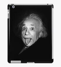 Albert Einstein Genius Tongue Funny iPad Case/Skin