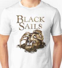 Black Sails Golden Skull Logo Unisex T-Shirt