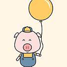 Little Piggy by cartoonbeing