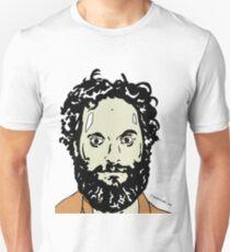 Jason Mantzoukas Colour Portrait JTownsend Unisex T-Shirt