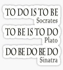 Do be Do be Do,  MUSIC, Frank Sinatra Lyrics, Greek version, Sticker